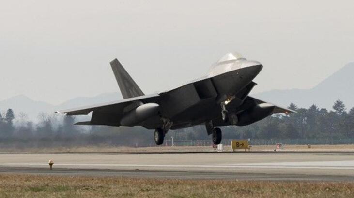 ABD ordusunun en pahalı uçağı F-22 Florida'da düştü!