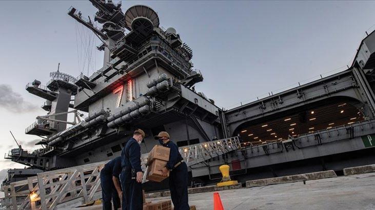 ABD'nin Roosevelt uçak gemisinde ikinci covid-19 dalgası