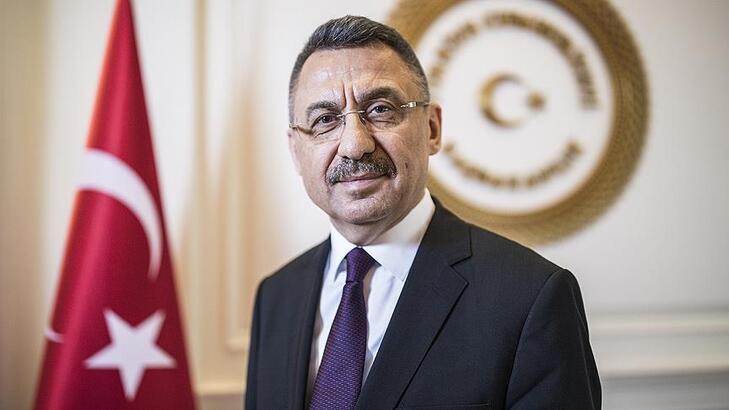 Cumhurbaşkanı Yardımcısı Oktay: 'Kırıkkale'deki tesiste aylık 45 milyon maske üretilecek'