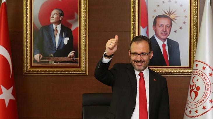 Bakan Kasapoğlu Gençlik Haftası'nda temsilci gençlerle bir araya geldi
