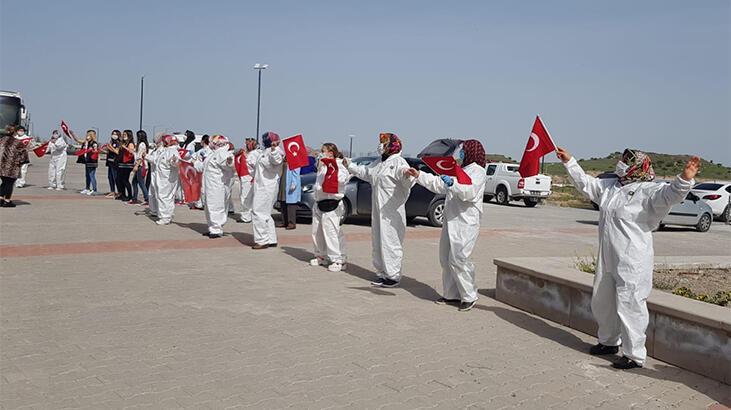 Suudi Arabistan'dan getirilen 169 Türk, tahliye edildi