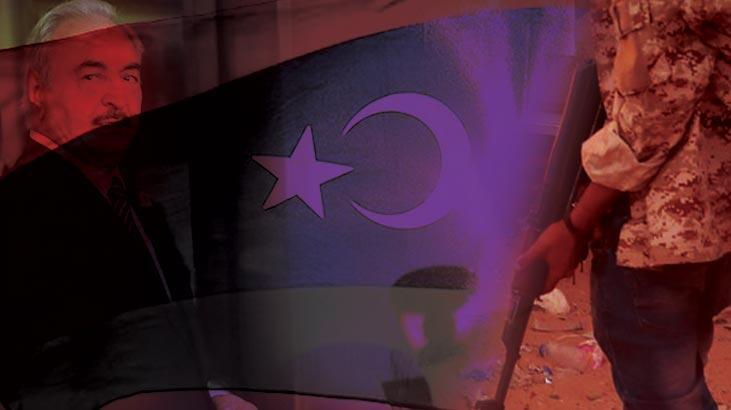 Libya ordusuna ait SİHA, Hafter milislerine sevk edilen HSS'yi imha etti