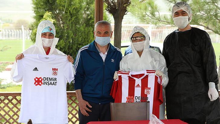 Sivasspor'da Kovid-19'a rastlanmadı
