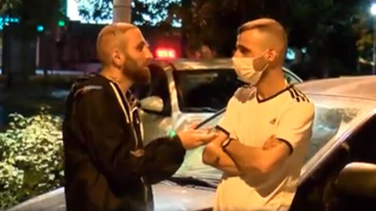 Sokağa çıkma kısıtlamasında saç ekim merkezine giden gençlere 6 bin lira ceza