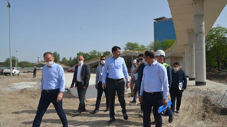 Bakan Kurum: Ankara'ya 3 milyon metrekarelik yeşil alan kazandıracağız