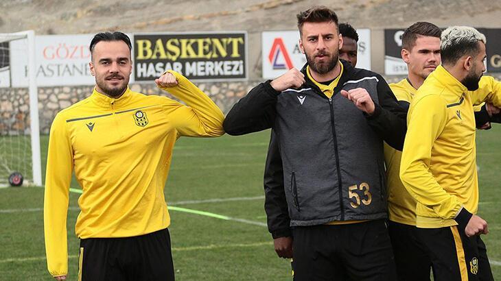 Yeni Malatyaspor'da antrenmanlar devam ediyor