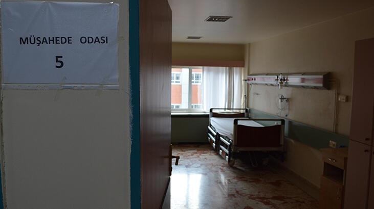 Son dakika haberi I Elazığ'da pandemi bölümündeki 4 servisten 2'si kapatıldı