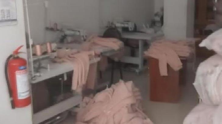 Yasağa rağmen açık iş yeri sahibi ile 16 çalışana ceza!