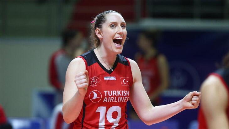 Türk Hava Yolları Kadın Voleybol Takımı Rishel ile sözleşme yeniledi