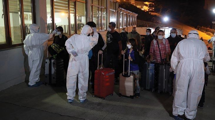 ABD'den Türkiye'ye getirilen 288 Türk vatandaşı Trabzon'daki yurda yerleştirildi