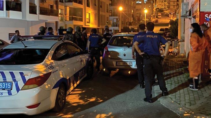 İzmir'de hareketli saatler! İntihar etmek isteyen şahıs 3 saatte ikna oldu