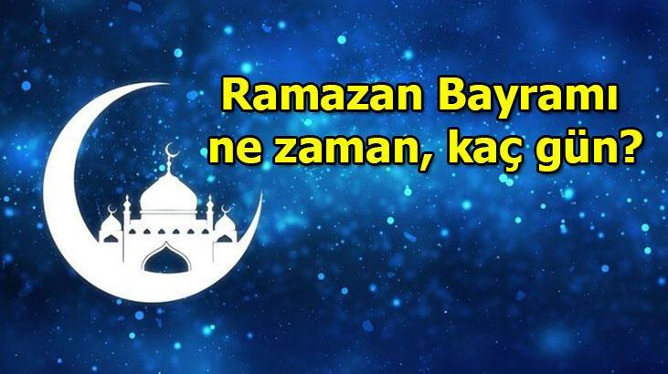 Arefe hangi gün? Ramazan Bayramı ne zaman, kaç gün?