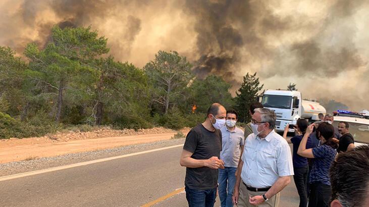 KKTC Tarım Bakanı Oğuz: 'Dünkü yangın, 1995 sonrası en büyük orman yangınıydı'