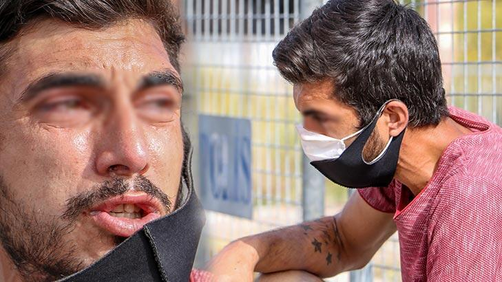 Karantina bölgesine girerken yakalandı, polise ağlayarak itiraz etti!