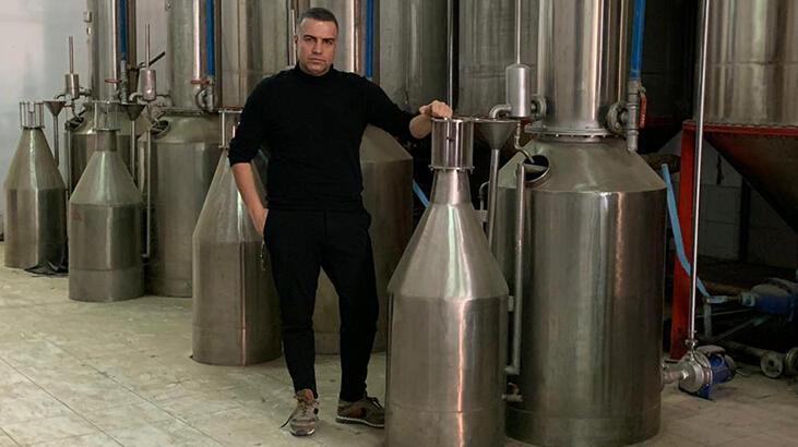 Berdan Mardini'nin gül yağı ve gül suyu fabrikası hizmete girdi