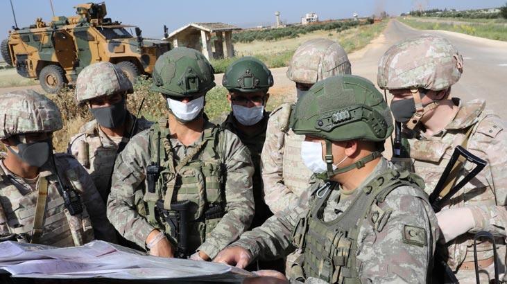 MSB: İdlib'de 12'inci Türk-Rus Birleşik Kara Devriyesi icra edildi
