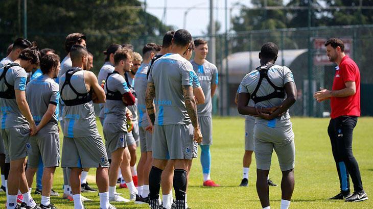 Trabzonspor, çalışmalarına akşam antrenmanıyla devam etti