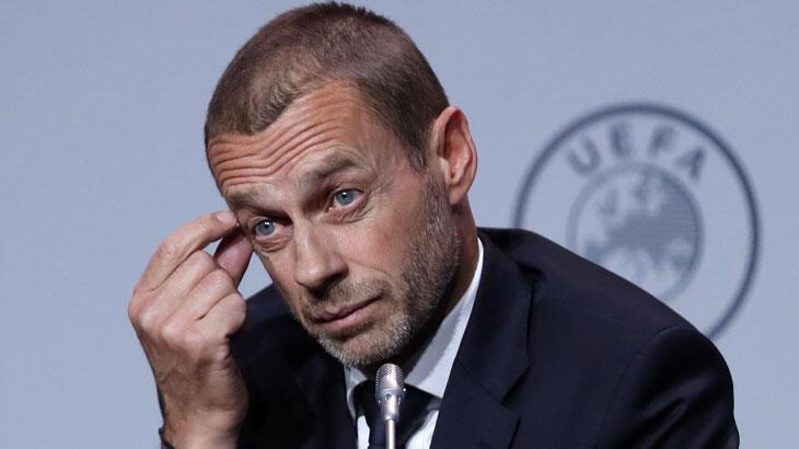 """UEFA Başkanı Ceferin: """"Planımız ağustos ayı sonuna kadar bitirmek"""""""