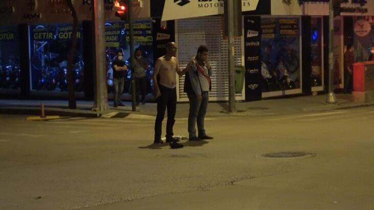 Cam parçaları ile rehin aldı! Polis yardımına koştu