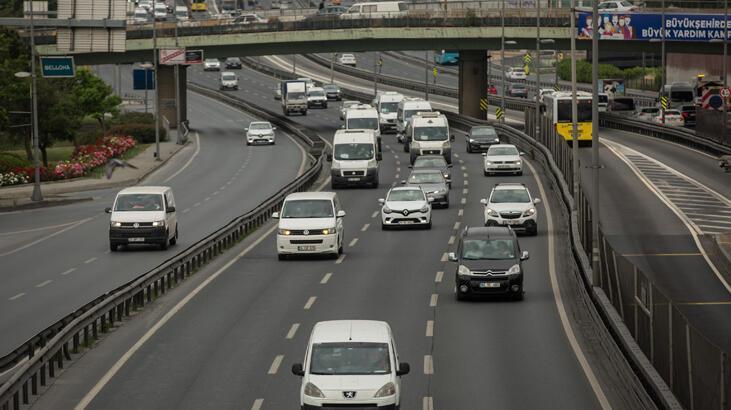 Son dakika: İstanbul'da trafikte yoğunluk