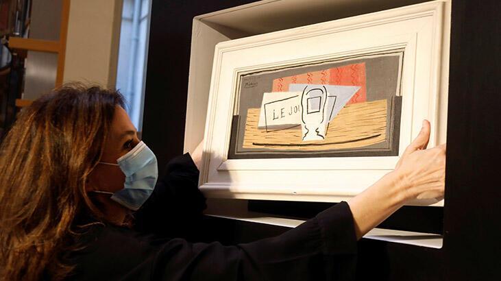 Oğlunun hediye ettiği biletle çekilişe katıldı, Picasso tablosu kazandı!