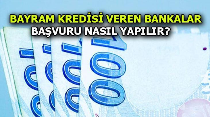 Bayram kredisi Vakıfbank - TEB - Şekerbank -  Garanti - Yapı Kredi - Finansbank | 3 Ay geri ödemesiz Bayram kredisi başvurusu nasıl yapılır?