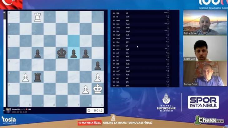 Spor İstanbul'un turnuvasına 21 ülkeden 160 satranççı katıldı