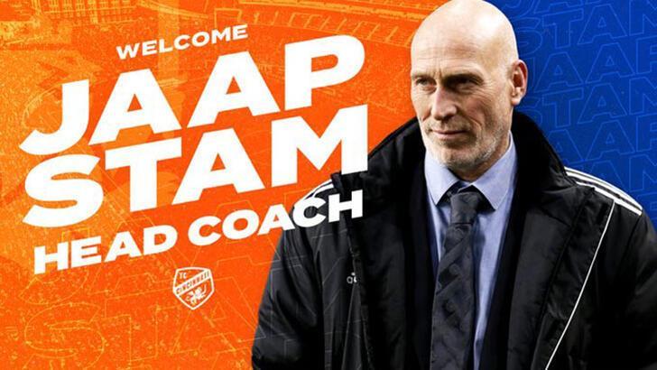 Jaap Stam, Cincinnati'nin teknik direktörü oldu