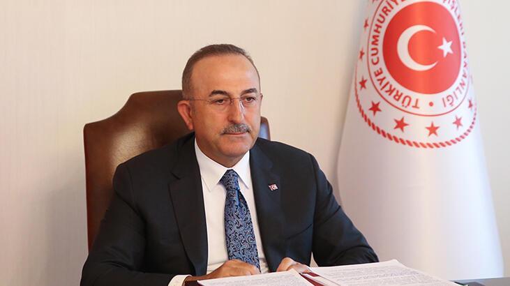 Dışişleri Bakanı Çavuşoğlu, Libyalı mevkidaşı Seyyale ile telefonda  görüştü