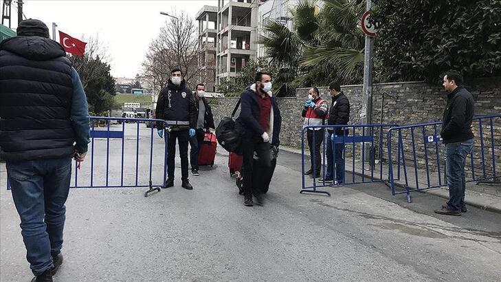 Sivas'ta yurtta karantinada tutulan 305 kişi tahliye edildi