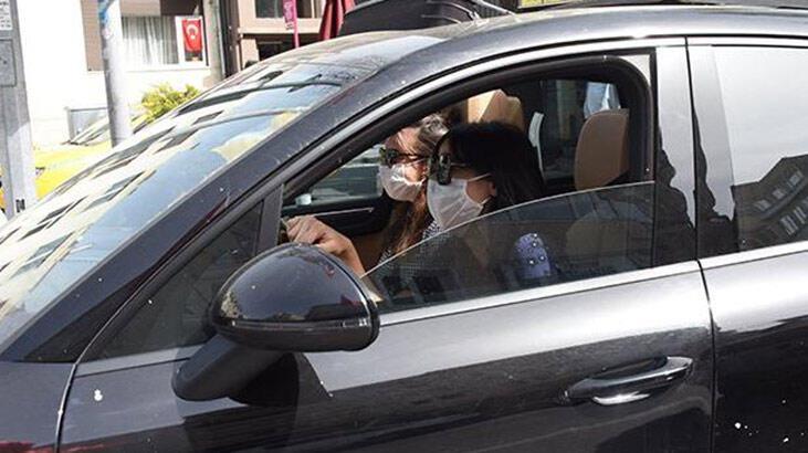 Zehra Çilingiroğlu'ndan maske kontrolü!