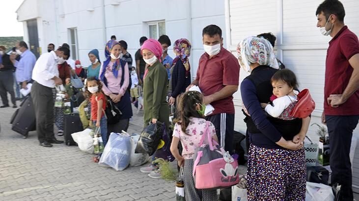 KKTC'den getirilip karantinaya alınan 288 kişi, evlerine gönderildi