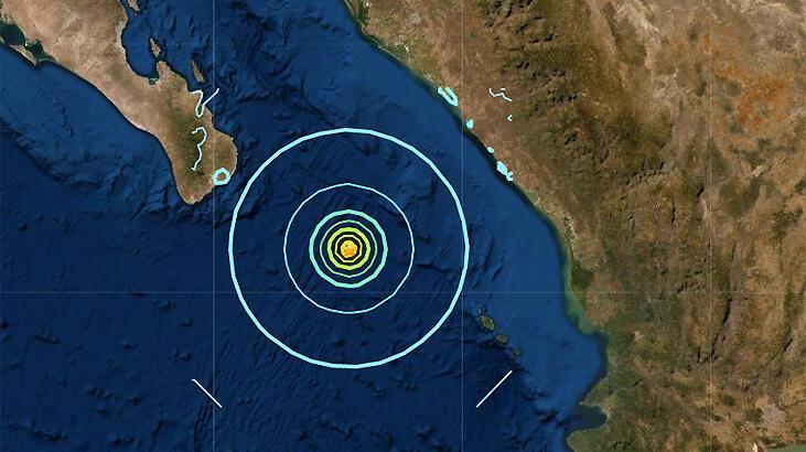 Son dakika... Meksika'da deprem!