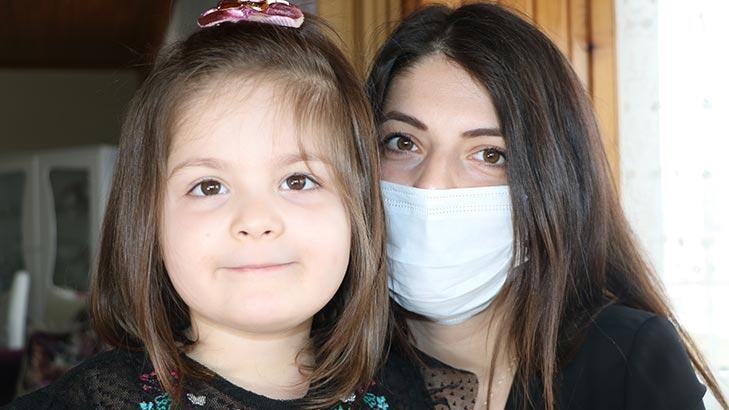 Corona virüsü yenerek kızıyla kucaklaşan anne konuştu!
