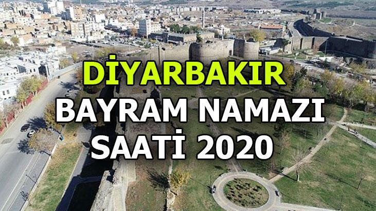 Diyarbakır'da bayram namazı saat kaçta? Diyarbakır bayram namazı saati 2020