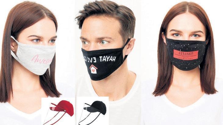Maskeli moda!