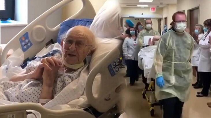 100 yaşındaki İkinci Dünya Savaşı gazisi corona virüsü yendi