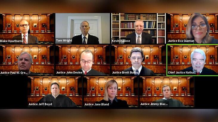 Corona virüs ABD yargısını değiştirdi: Telekonferanslı duruşma yapıldı