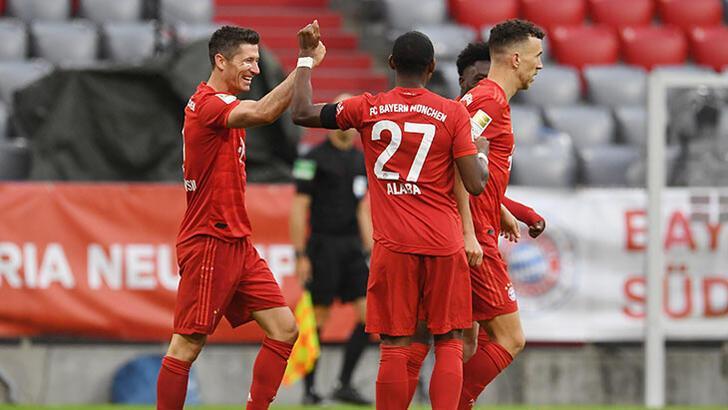 Bayern Münih - Eintracht Frankfurt: 5-2