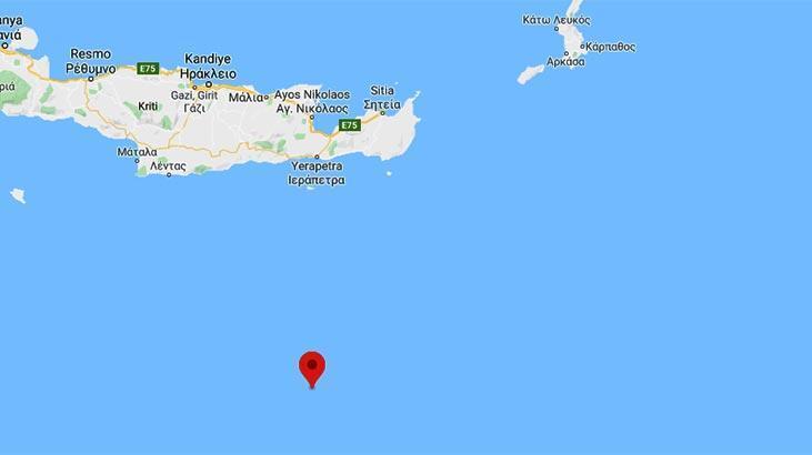 Son dakika   Akdeniz'de 5.2 büyüklüğünde deprem