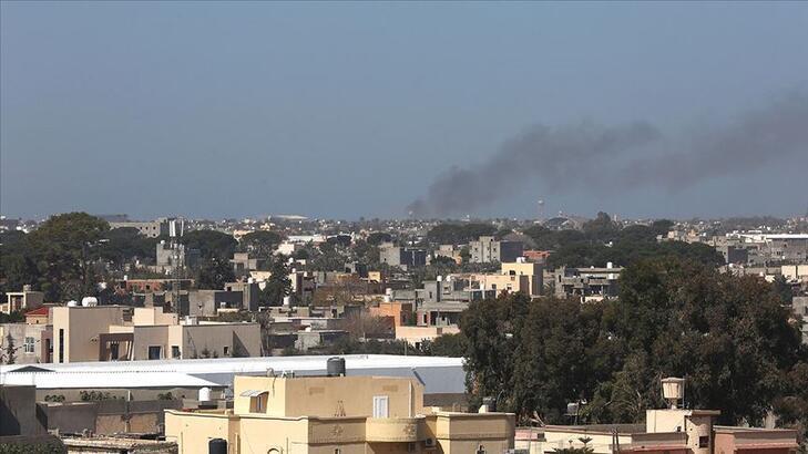 Libya'da BAE'ye ait SİHA Giryan kentinde sivil yerleşim yerlerini vurdu