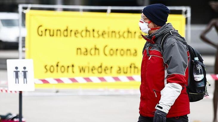Almanya'da corona virüs bilançosu: Can kaybı 8 bin 371'ya yükseldi