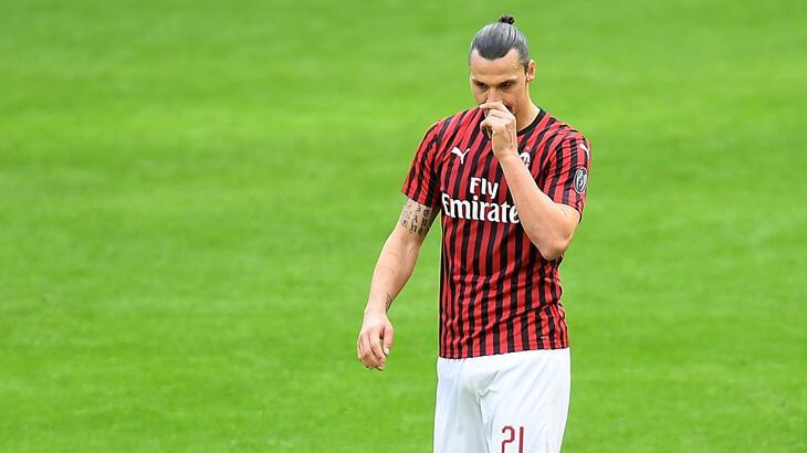 Zlatan Ibrahimovic'e sakatlık şoku