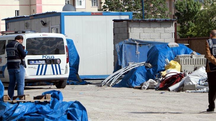Kayseri'de bir inşaat bekçisi kulübede ölü bulundu!