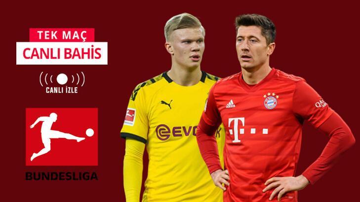 Dortmund - Bayern maçı canlı bahis heyecanı Misli.com'da