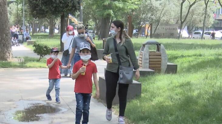 Sokağa çıkma izni 0-14 yaş arası çocuklar için başladı! 0-14 yaş arası çocukların sokağa çıkma izinleri saat kaçta sona erecek?