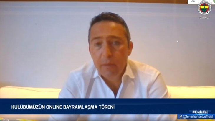 Son dakika - Fenerbahçe Başkanı Ali Koç: Süper Lig'i oynatmak en doğru karar