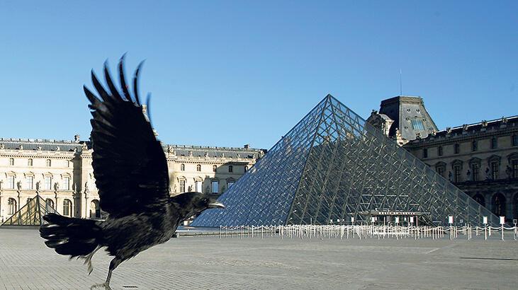Louvre'a 10.5 milyon online ziyaret