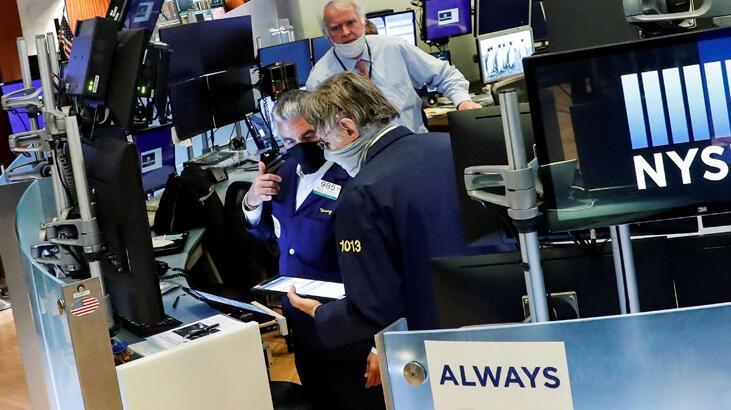 New York Borsası'nda seans salonu 2 ay aradan sonra açıldı