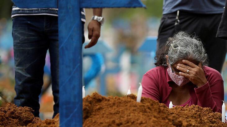 Son dakika | Brezilya'da 24 saatte 1039 kişi daha corona virüsten öldü!